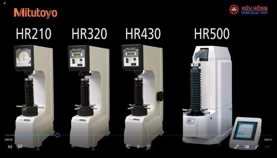 Máy Kiểm Tra Độ Cứng Mitutoyo Rockwell Hardness Testers HR 210 HR 320 HR 430 HR 500
