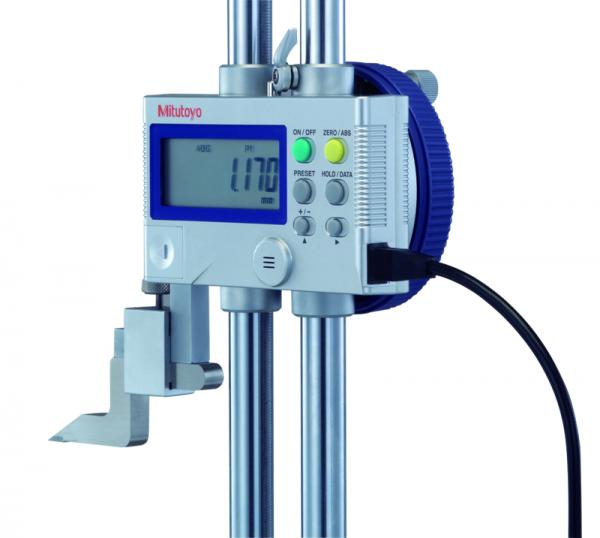 Cáp truyền dữ liệu cho thiết bị đo điện tử đầu thẳng 1m Mitutoyo, 905338
