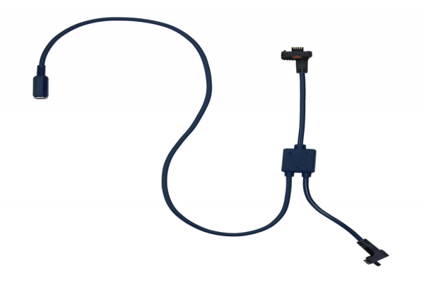 U-WAVE-T Connection Cable A, Footswitch with Data Button IP Caliper Type, 02AZE140A