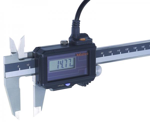 Cáp truyền dữ liệu cho thước cặp điện tử loại IP67, 2m, Mitutoyo, 05CZA625