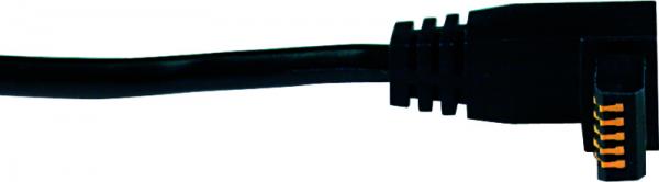 Cáp truyền dữ liệu cho thiết bị đo điện tử đầu chữ L phẳng 1m Mitutoyo, 905689