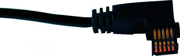 Cáp truyền dữ liệu cho thiết bị đo đầu phải chữ L 2m Mitutoyo, 905692