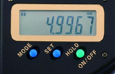 Panme kỹ thuật số với độ chính xác cao 0-25mm Mitutoyo, 293-100-10