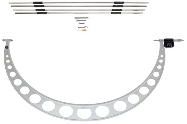 Panme Cơ Khí Đo Khoảng Cách Lớn Anvils 800-900mm Mitutoyo, 340-525