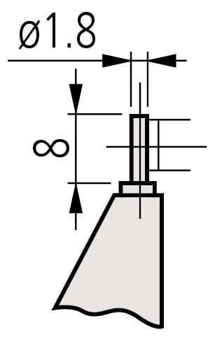 Panme Cơ Đo Ngoài Đo Thành Ống 0-25mm, 115-315