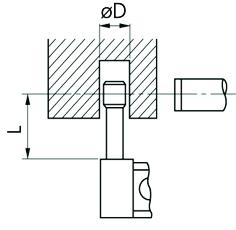 Panme Cơ Đo Ngoài Đo Thành Ống Mitutoyo, 25-50mm, 115-309