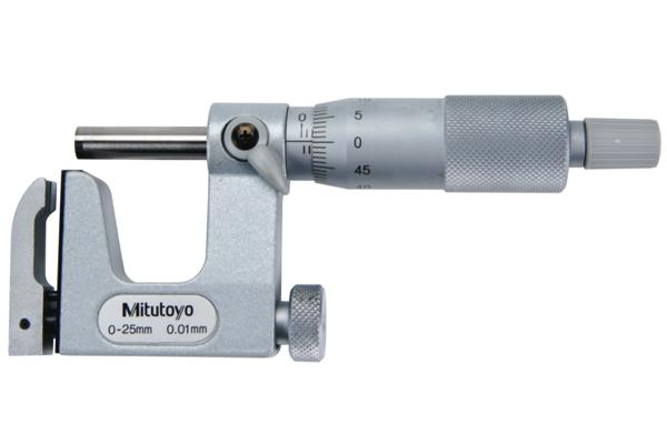 Panme Cơ Đo Ngoài Đo Độ Dày Ống Mitutoyo, 25-50mm, 117-102