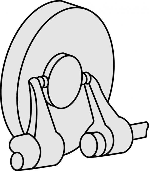 Panme Cơ Khí Đo Ngoài Mỏ Cặp Mitutoyo, 100-125mm, 143-105