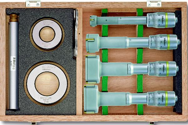 Bộ Panme Đo Lỗ 3 Chấu Cơ Khí 20-50mm (4 pcs) Mitutoyo, 368-913