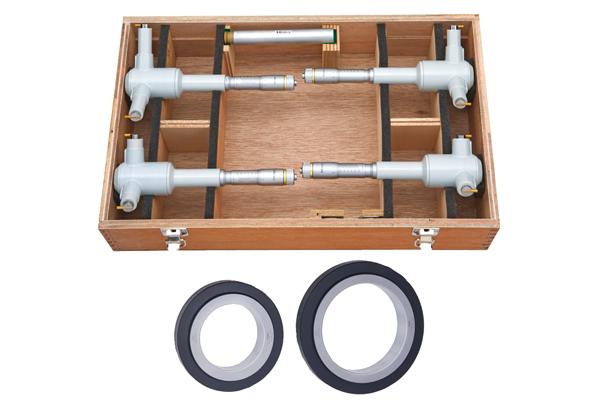 Bộ Panme Đo Lỗ 3 Chấu Cơ Khí 100-200mm (4 pcs) Mitutoyo, 368-915