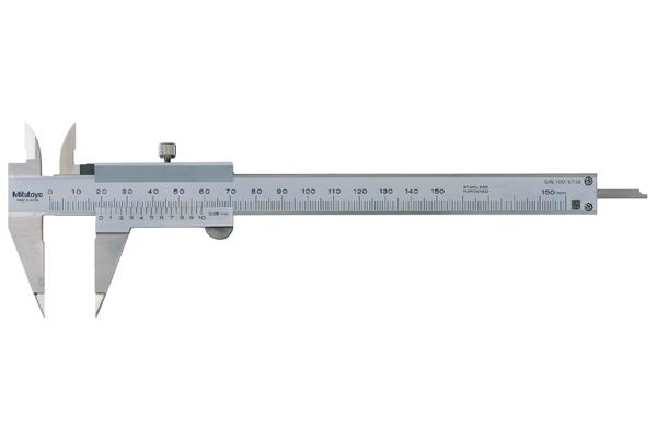 Thước Cặp Cơ Khí Ngàm Nhọn 0-150mm/0,05mm Mitutoyo, 536-121