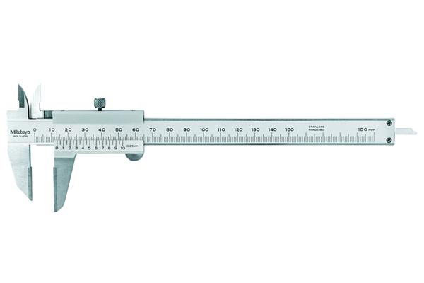 Thước Cặp Cơ Khí Ngàm Phủ Carbua 0-300mm/0,05mm Mitutoyo, 536-223