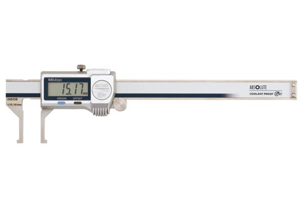 Thước Cặp Điện Tử Đo Rãnh Trong IP67 10.1-160mm/0.01mm Mitutoyo, 573-645-20