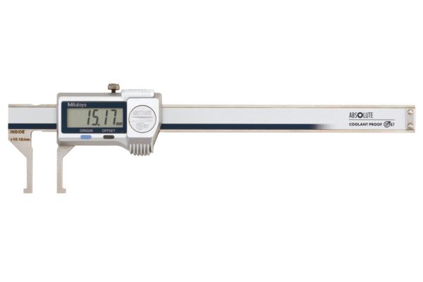 Thước Cặp Điện Tử Đo Rãnh Trong IP67 10.1-160mm/0.01mm Mitutoyo, 573-647-20