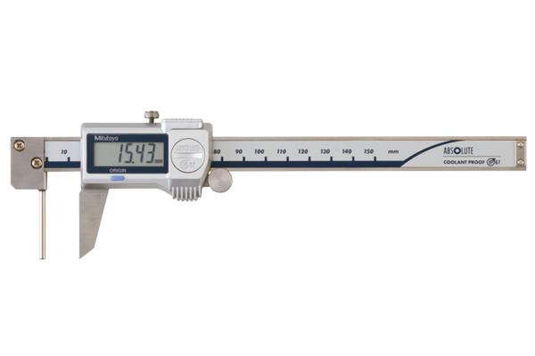 Thước Cặp Điện Tử IP67 Đo Độ Dày Bề Mặt Cong 0-150mm Mitutoyo, 573-661-20