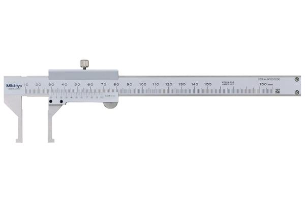 Thước Cặp Cơ Khí Đo Rãnh Trong 10-150mm/0,05mm Mitutoyo, 536-145