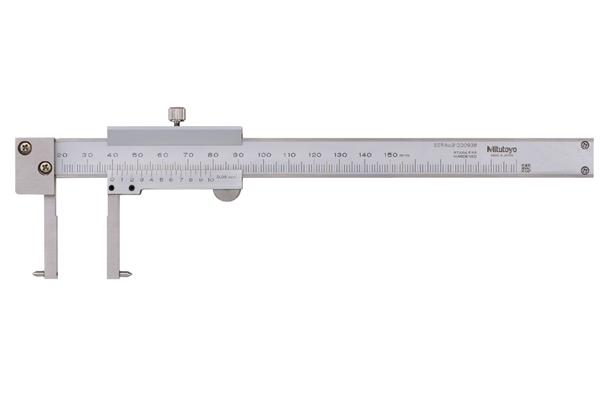 Thước Cặp Cơ Khí Đo Rãnh Trong 20.1-150mm/0,05mm Mitutoyo, 536-146