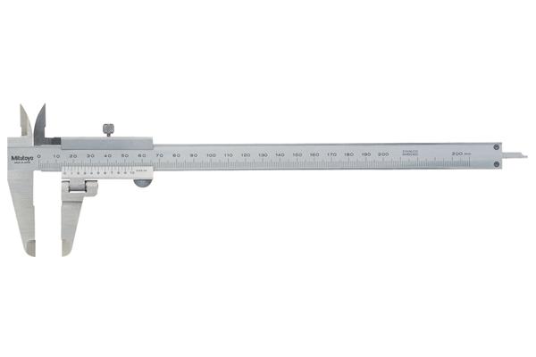 Thước Cặp Cơ Khí Đo Ngoài Mỏ Xoay 0-200mm/0,05mm Mitutoyo, 536-212