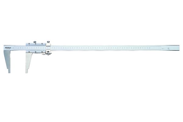 """Thước Cặp Cơ Khí 1 Ngàm Đo có chỉnh Tinh Inch/Metric 0-60""""/0,001"""" Mitutoyo, 160-112"""