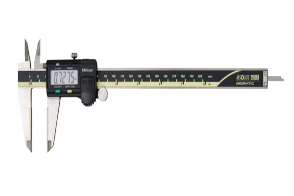 """Thước Cặp Điện Tử Cảm Ứng AOS, Digital ABS AOS Caliper, OD Carb. Jaws Inch/Metric, 0-8"""", Blade, Thumb R., Outp, 500-177-30"""