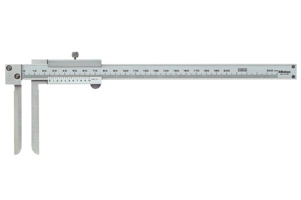 Thước Cặp Cơ Khí Đo Trong Mỏ Dẹp,10-200mm/0,05mm Mitutoyo, 536-142