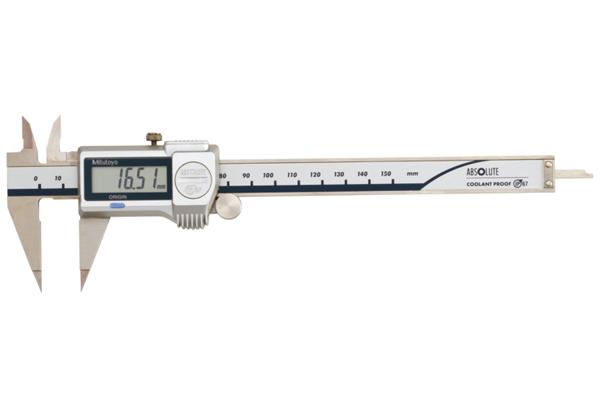 Thước Cặp Điện Tử Ngàm Nhọn IP67 0-150mm Mitutoyo, 573-621-20