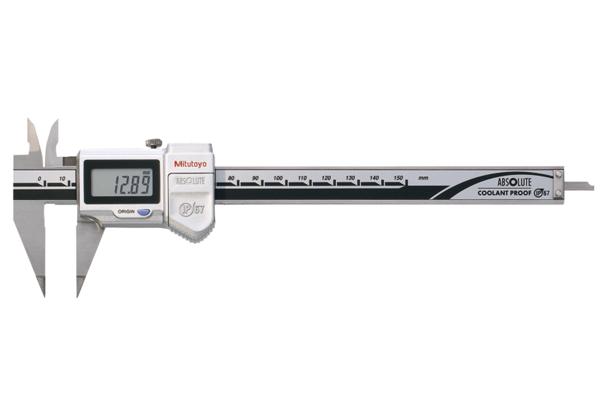 Thước Cặp Điện Tử Ngàm Nhọn IP67 0-150mm Mitutoyo, 573-622-20