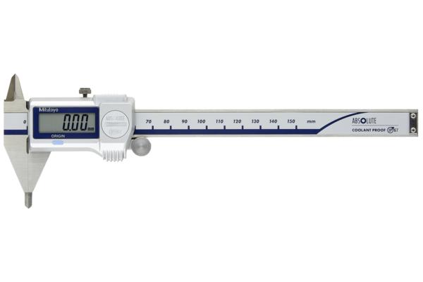 Thước Cặp Điện Tử Ngàm Nhọn IP67 0-150mm Mitutoyo, 573-625-20