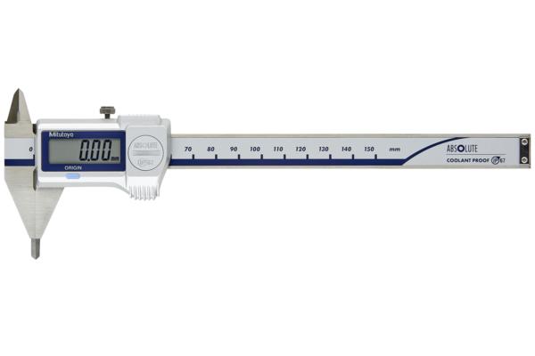 """Thước Cặp Điện Tử Ngàm Nhọn IP67 Inch/Metric, 0-6"""" Mitutoyo, 573-725-20"""