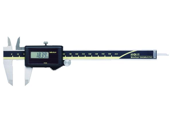 Thước Cặp Điện Tử Quang Năng, Digital ABS Solar Caliper 0-100mm, Rod, Thumb Ro., w/o Output, 500-453