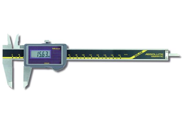Thước Cặp Điện Tử Quang Năng, Digital ABS Solar Caliper 0-150mm, Blade, w/o Data Output, 500-457