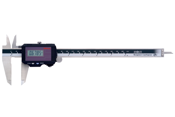 """Thước Cặp Điện Tử Quang Năng Inch/Metric, 0-8"""" Mitutoyo, 500-785"""
