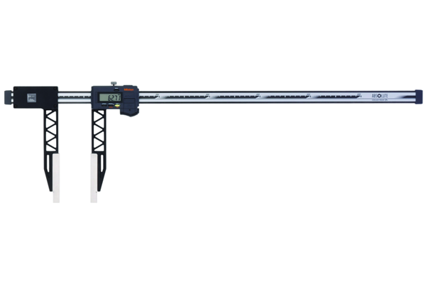 """Thước Cặp Điện Tử Thân Carbon, Digital ABS Carb. Fibre Caliper Long Jaw Inch/Metric, 0-80"""", IP66, 552-164-10"""