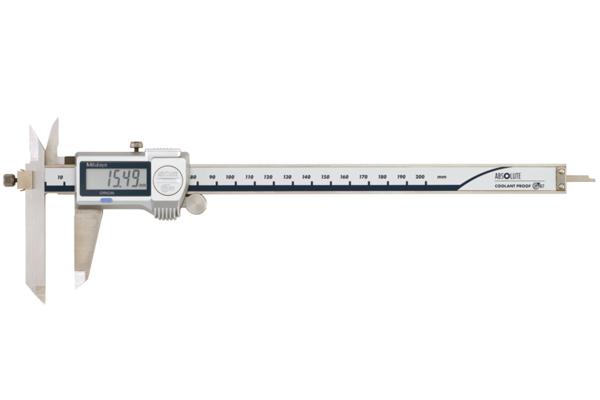 Thước Cặp Điện Tử Ngàm Lệch Đo Bậc IP67 0-150mm Mitutoyo, 573-611-20