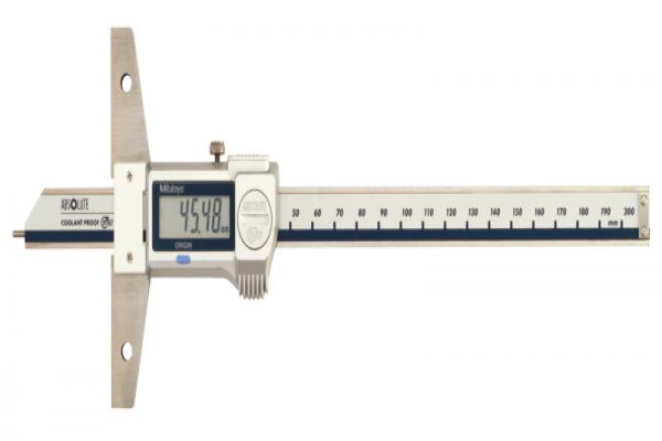 """Thước cặp đo sâu điện tử chống nước IP67 hai hệ Inch/Metric 0-6""""/0-150mm Mitutoyo, 571-311-20"""