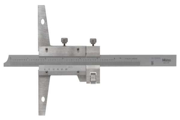 """Thước cặp đo sâu cơ khí 0-40""""/0.001"""",loại có nút chỉnh tinh, 527-115"""