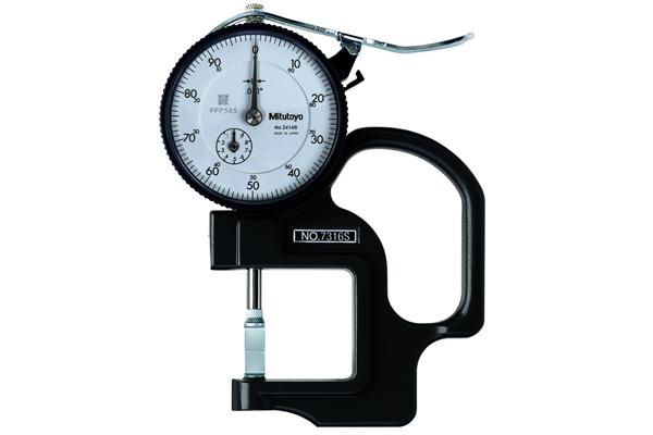 """Đồng hồ đo độ dày cơ khí, 0-0,5"""", 0,001, 7316S"""