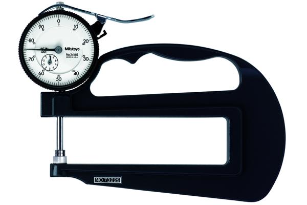 """Đồng hồ đo độ dày cơ khí, 0-1"""", 0,001"""" 4,72"""", 7322S"""