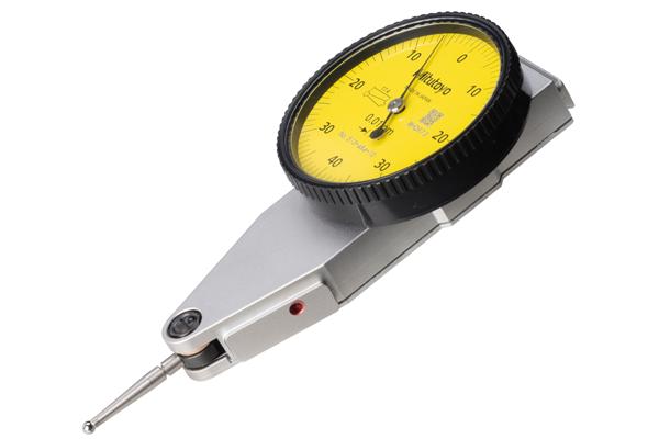 Đồng Hồ So Chân Gập, Dial Test Indicator, Parallel Type 0,8mm, 0,01mm, 4/8mm Stem, 513-484-10A