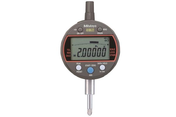 """Đồng Hồ So Điện Tử Đặc Biệt, Digital Indicator Calculation, ANSI/AGD Inch/Metric, 0,5"""", 0,00005"""", Flat Back, 543-342B"""