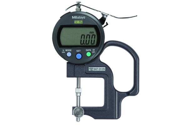 """Đồng hồ đo độ dày điện tử,, 0-0,4"""", 0,0005"""", 547-312S"""