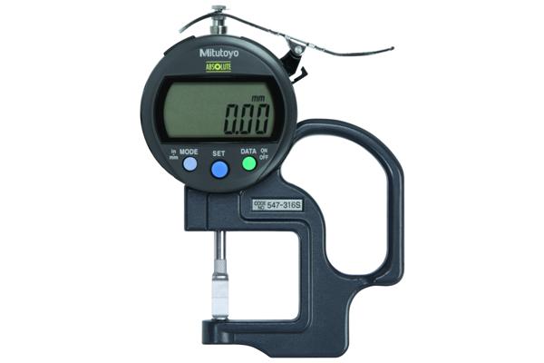 """Đồng hồ đo độ dày điện tử, 0-0,4"""", 0,0005"""", 547-316S"""