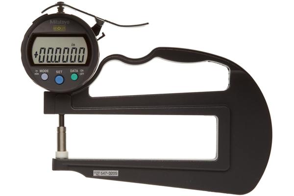 """Đồng hồ đo độ dày điện tử,, 0-0,4"""", 0,0005"""", 4,72"""", 547-320S"""