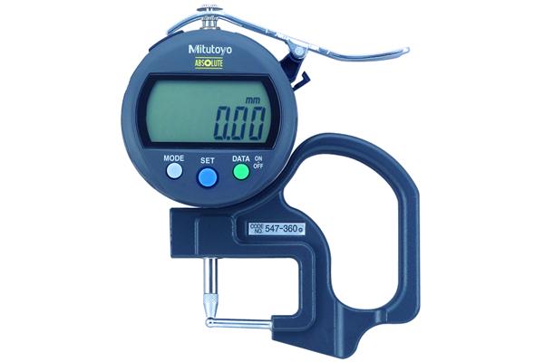 Đồng hồ đo độ dày điện tử, 0-10mm, 0,01mm, 547-360
