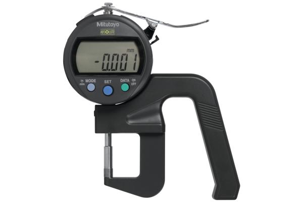 """Đồng hồ đo độ dày điện tử, 0-0,47"""", 0,00005""""/0,001mm, 547-400S"""