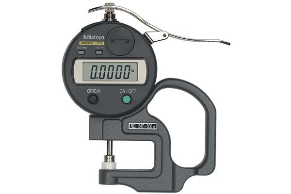"""Đồng hồ đo độ dày điện tử, 0-0,47"""", 0,0005"""", 547-500S"""