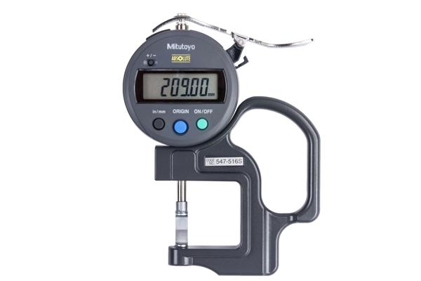 """Đồng hồ đo độ dày điện tử, 0-0,47"""", 0,0005, 547-516S"""