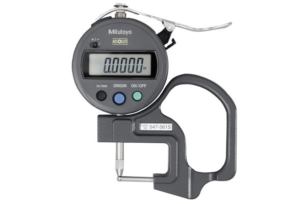 """Đồng hồ đo độ dày điện tử, 0-0,47"""", 0,0005"""", 547-561S"""