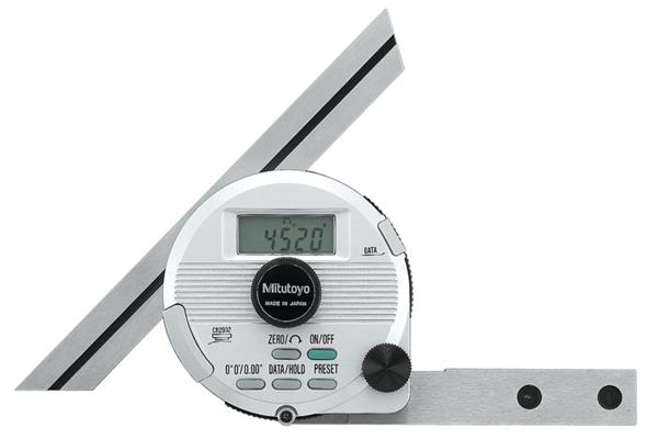 Thước Đo Góc, Digital Universal Protractor Blade Length: 150mm, Inch/Metric, 187-551