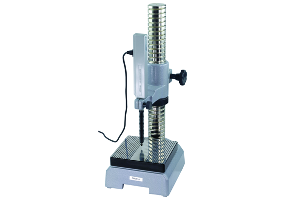 Giá đỡ máy đo có đế granite, Gauge Stand with Hardened Steel Anvil 150x150mm, Square Anvil, 215-505-10